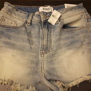 Size 4 waist high Victoria secret shorts